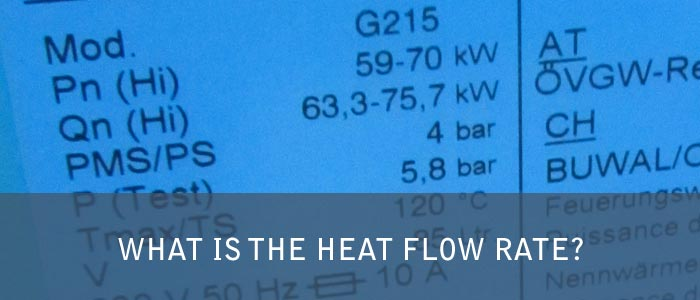 What is the Heat Flow Rate? - Performance in Heating Technology