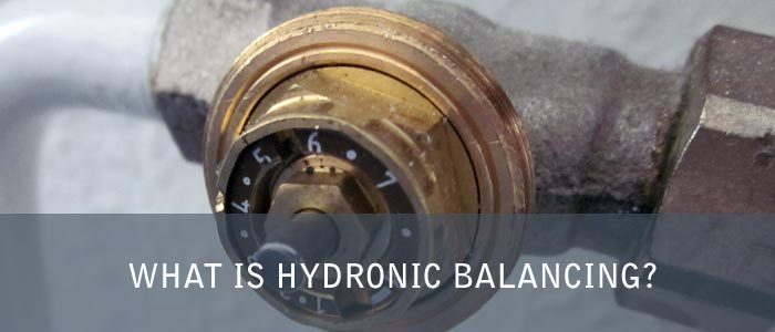 What is hydronic balancing?