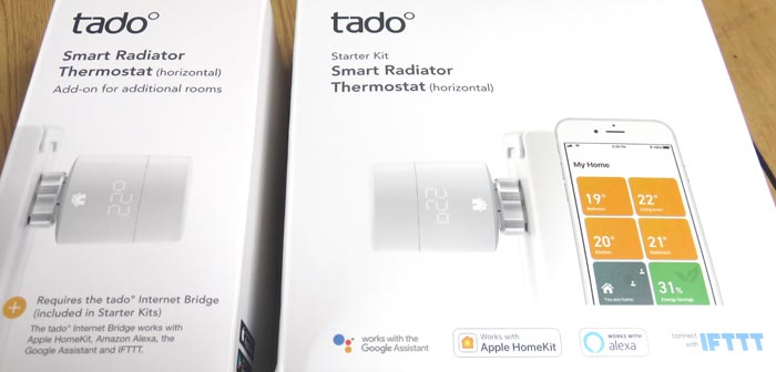 tado° smart radiator thermostat - Packaging