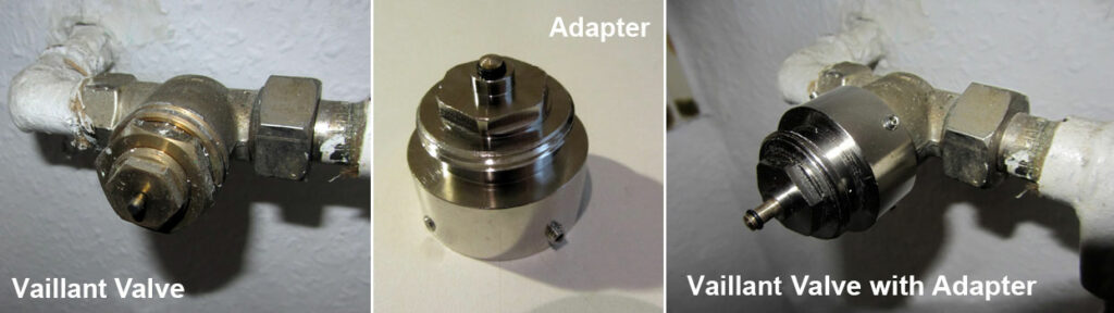 Vaillant Valve with Adapter