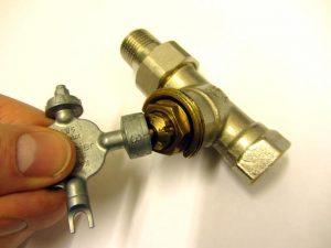 Figure 10: Radiator valve presetting