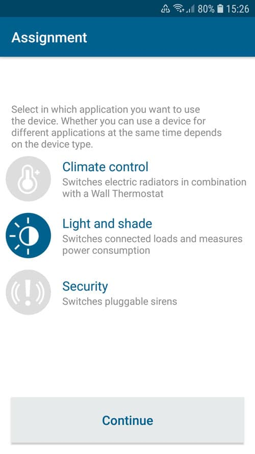 Homematic IP - Smart Plug Assignment