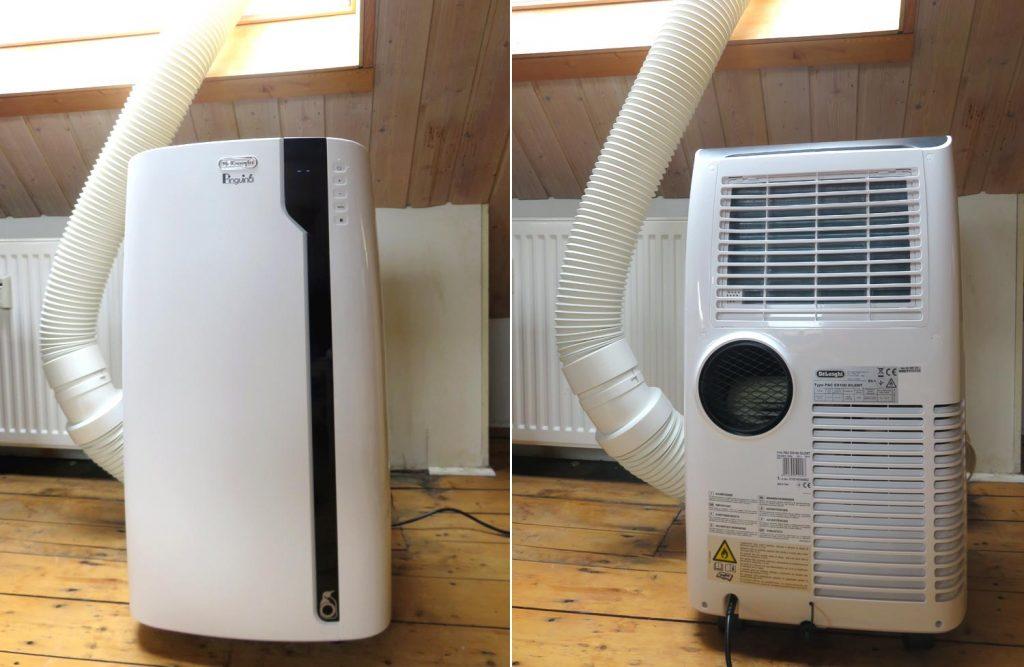 Figure 1: De'Longhi Pinguino PAC EX100 Silent portable air conditioner