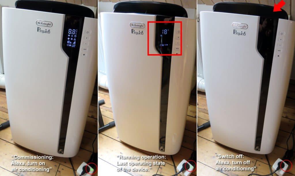 Smart Home Integration - DeLonghi-PAC-EX100-Silent