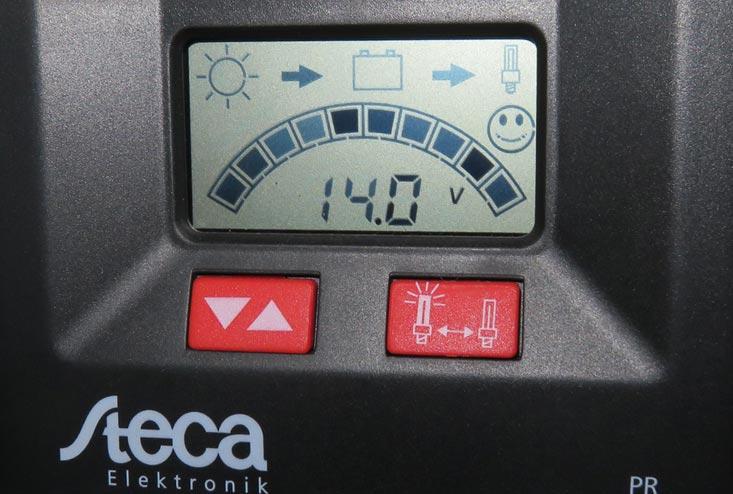 Figure 18: Steca 2020 display in