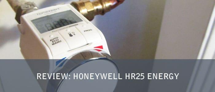 Review Honeywell HR25 Energy